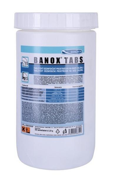 BANOX TABS dezinfekční chlorové tablety 1kg