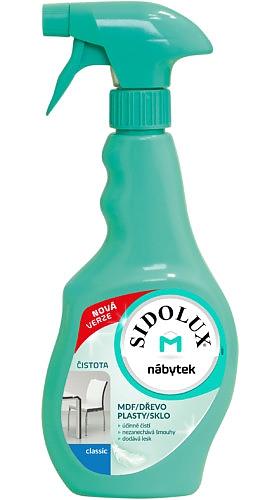 SIDOLUX M 400ml proti prachu CLASSIC