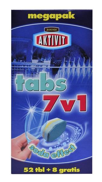 AKTIVIT TABS 7v1 60ks tablety do myčky