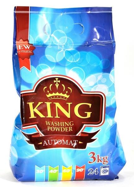 KING AUTOMAT 3kg prací prášek
