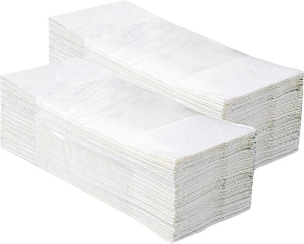 ALTER CLASSIC pap.ručníky Z-Z bílé SOFT 1V 5000ks