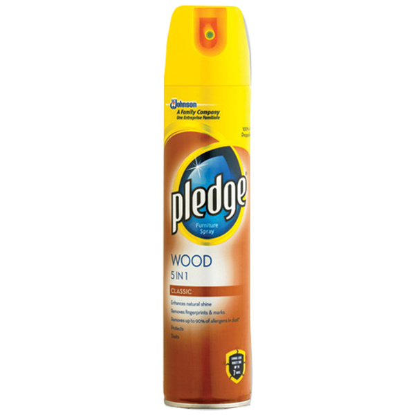 PLEDGE WOOD CLASSIC 250ml spray leštěnka