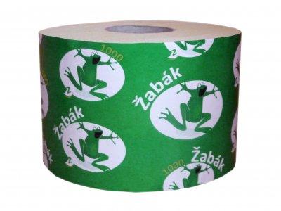 ŽABÁK 1000 toaletní papír 2-V bílý